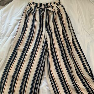 stripped the pants!